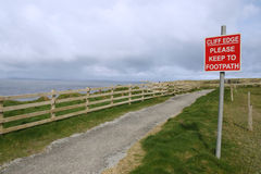 Ballybunion Warning Sign
