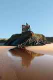 Ballybunions Castle On The Cliff Royalty Free Stock Photos