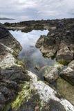 Ballycastle, Antrim τοπίο ακτών στη βόρεια Ιρλανδία Στοκ Φωτογραφίες