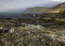 Ballycastle Coast. Ireland's Northern Coast near Ballycastle, County Antrim stock image