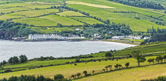 Ballycastle. Ireland's Northern Coast County Antrim. This is a the small village of BallyCastle royalty free stock photography