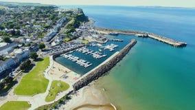 Ballycastle schronienie i Marina, Co Antrim P??nocny - Ireland fotografia royalty free