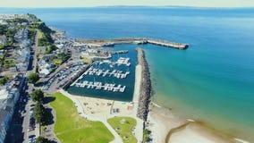 Ballycastle schronienie i Marina, Co Antrim P??nocny - Ireland zdjęcie royalty free