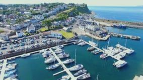 Ballycastle schronienie i Marina, Co Antrim P??nocny - Ireland obraz royalty free