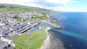 Ballycastle schronienie i Marina, Co Antrim P??nocny - Ireland obrazy stock