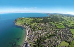 Ballygally Co 安特里姆北爱尔兰 免版税图库摄影