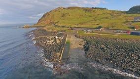 Ballygally Jetty Antrim Northern Ireland