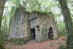 Ballykine城堡, Clonbur, Co 高尔韦爱尔兰 库存图片