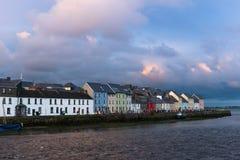 Ballyknow kaj, Galway stad royaltyfria foton