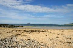 Ballyliffin海滩 免版税图库摄影