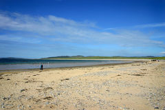 Ballyliffin Beach. Sea and sand on Ballyliffin beach, County Donegal Ireland Stock Photos