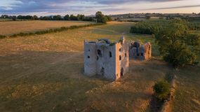 Ballyloughankasteel Bagenalstown provincie Carlow ierland royalty-vrije stock foto