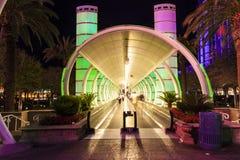 Ballys旅馆和赌博娱乐场入口  免版税库存照片