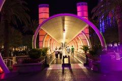 Ballys旅馆和赌博娱乐场入口  库存图片