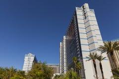Ballys旅馆塔在拉斯维加斯, 2013年5月20日的NV 库存图片
