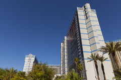 Ballys hotelltorn i Las Vegas, NV på Maj 20, 2013 Fotografering för Bildbyråer