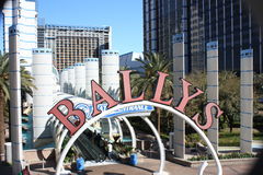 Ballys Resort Las Vegas Royalty Free Stock Photography