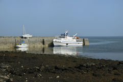 Ballyvaghan harbour Royalty Free Stock Photo