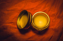 Balm. Massage oil or balm, cream Royalty Free Stock Images