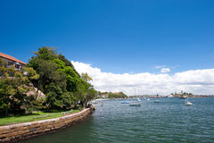 Balmain,  Sydney, Australia. Royalty Free Stock Photo