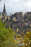 balmoral να είστε μπορεί κάστρων καθεδρικών ναών dugald του Εδιμβούργου giles σωστός ορίζοντας ST Stewart μνημείων λόφων αριστερό Στοκ φωτογραφίες με δικαίωμα ελεύθερης χρήσης