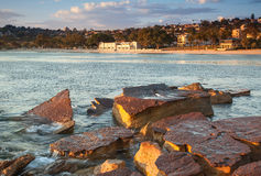 Balmoral beach stock image