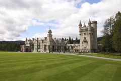 Balmoral castle Royalty Free Stock Images