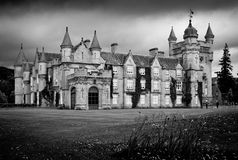 Balmoral Castle. In Royal Deeside, Aberdeenshire, Scotland Stock Image