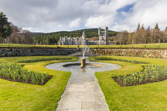 Balmoral Castle gardens Stock Photo