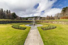 Balmoral Castle and gardens Royalty Free Stock Images