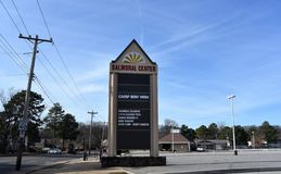 Balmoral centrum, Memphis, TN obraz stock