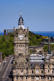 Balmoral Clock Tower, Edinburgh Royalty Free Stock Image