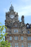 Balmoral clock tower in Edinburgh Stock Photography