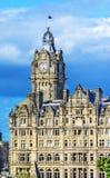 Balmoral, Edinburgh-Markstein, Schottland stockfotos