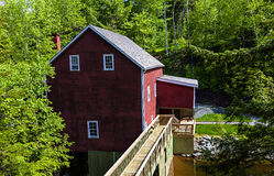 Balmoral Grist Mill Stock Images
