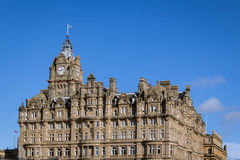 Balmoral hotel clean photograph Royalty Free Stock Photo