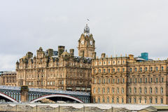 Balmoral hotel in Edinburgh Stock Images