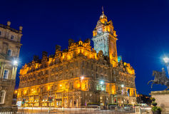 The Balmoral Hotel, a historic building in Edinburgh Royalty Free Stock Photography