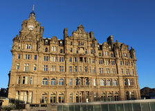Balmoral Hotel, Princes Street Edinburgh Scotland Royalty Free Stock Photography