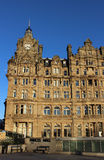 Balmoral Hotel, Princes Street Edinburgh Scotland Royalty Free Stock Photos