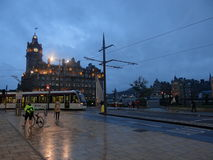 Balmoral Hotel - Princess Street Royalty Free Stock Images