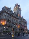Balmoral Hotel - Princess Street Royalty Free Stock Photos