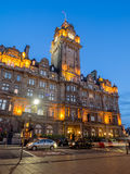 Balmoral hotell, Edinburg Royaltyfri Foto