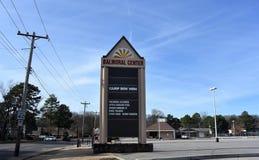 Balmoral-Mitte, Memphis, TN stockbild