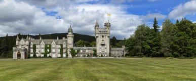 Balmoral slottgods, Aberdeenshire, norr östlig skotsk Skotska högländerna arkivfoto