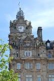 Balmoral zegarowy wierza w Edynburg Fotografia Stock