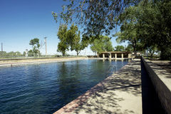 Balmorhea Pool royalty free stock images
