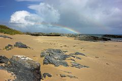 Balnahard bay, Isle of Colonsay, Scotland Stock Image