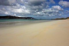 Balnakeil海滩,德内斯,西北苏格兰高地 库存照片