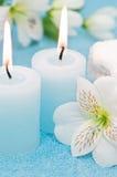 Balneario azul Imagen de archivo libre de regalías
